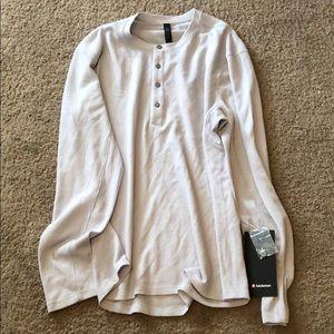 New lulu long sleeve shirt